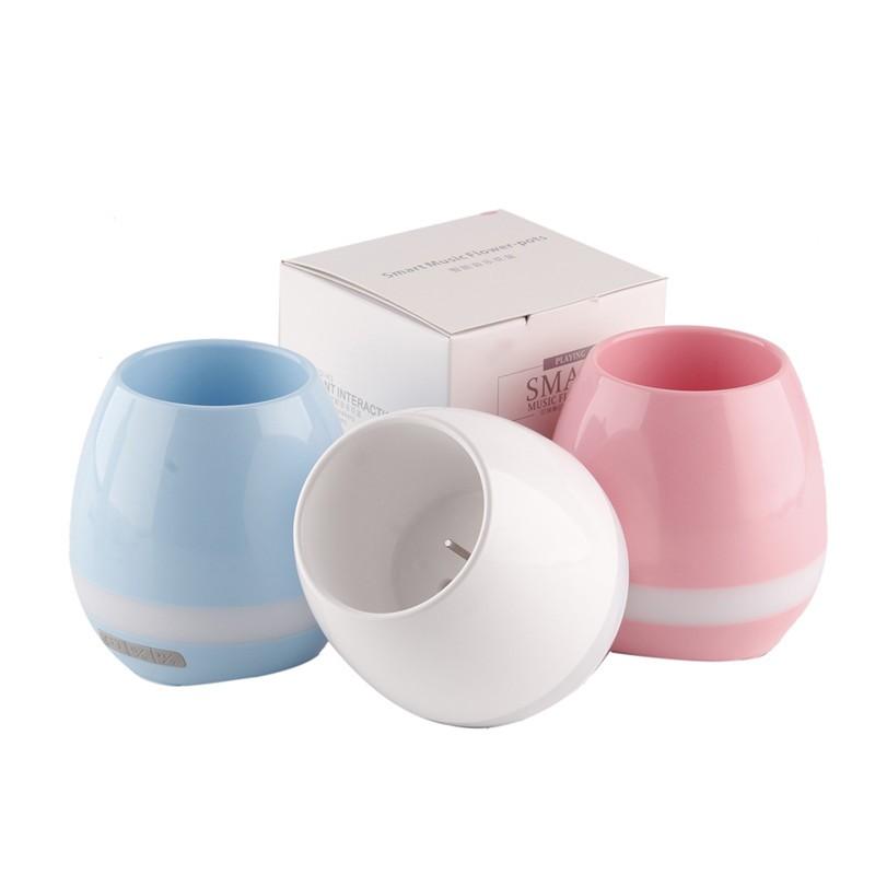 Pot de fleur musical et lumineux cenocco cc 9043 - Chauffage pot de fleur ...