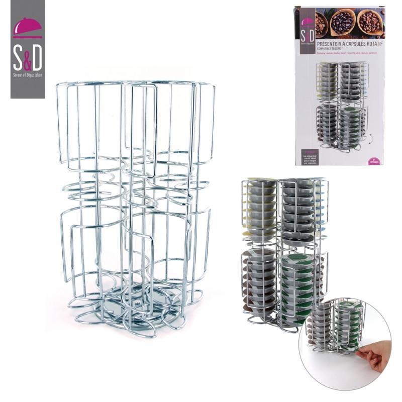 porte capsules rotatif x64 tassimo m8 ka1916. Black Bedroom Furniture Sets. Home Design Ideas